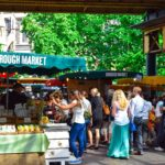 Sustainable travel means supporting the local economy by shopping at places like markets