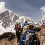 Do low carbon impact activities like trekking, walking, hiking, or cycling