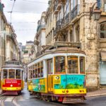 Take public transportation to lower your carbon impact when you travel