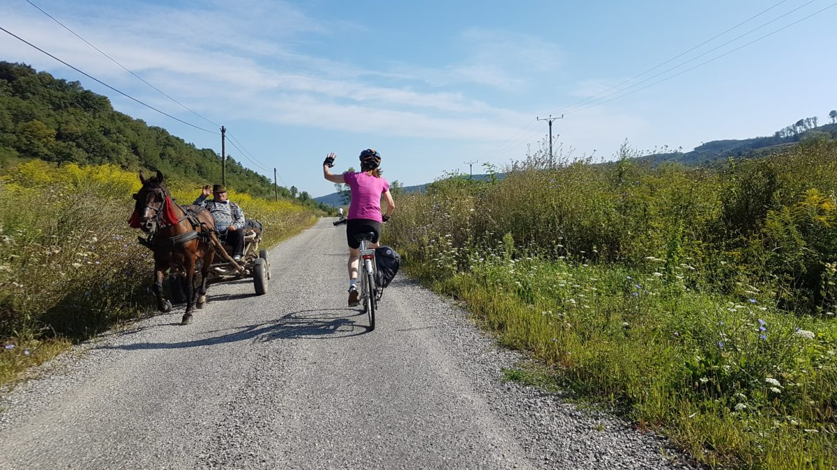 covid-friendly cycling tour in Romania