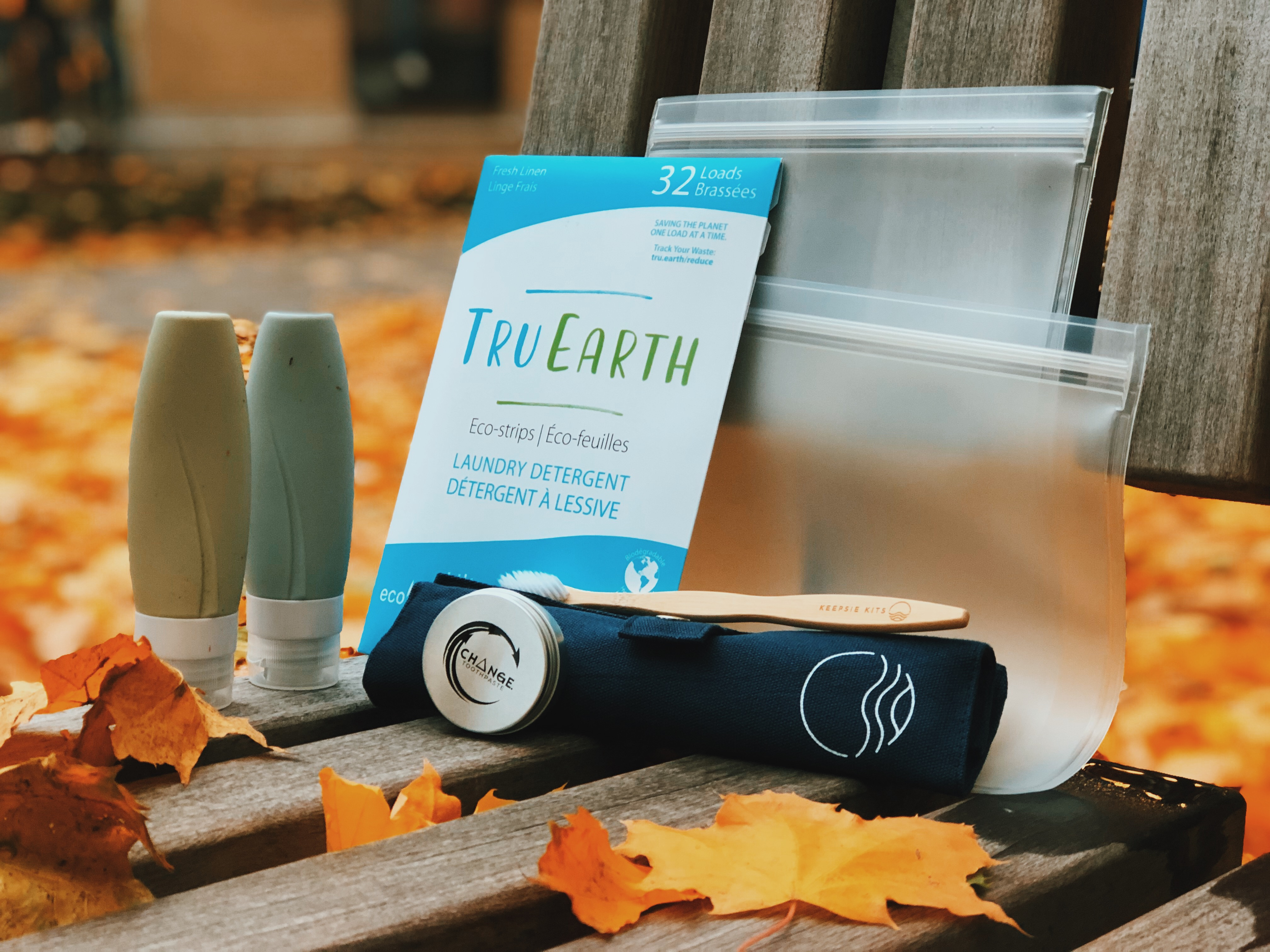 Keepsie Kits - The Essentials - Eco-friendly sustainable travel products for zero-waste travelers
