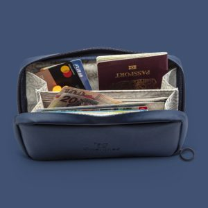 Onenine5 - eco-friendly travel products eco essentials pouch in navy