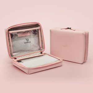 Onenine5 - eco-friendly travel products travel wash bag toilietry in pink